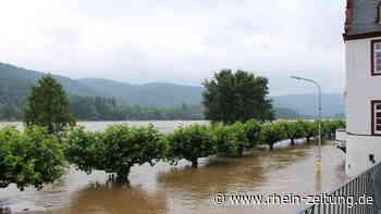 Hochwasser: Rheinanlieger im Kreis Neuwied zeigen ihre Routine mit den Fluten - Rhein-Zeitung