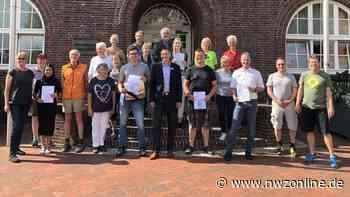 Westerstede Stadtradeln: Fleißigste Radler auf dem Marktplatz geehrt - Nordwest-Zeitung