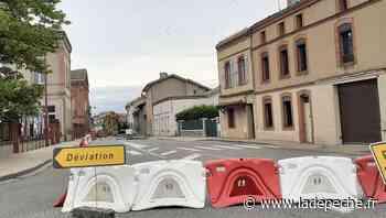 D 813 : encore une huitaine de jours de déviation à Castelsarrasin - ladepeche.fr