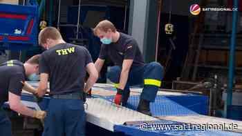 VIDEO   Unwetterkatastrophe: THW aus Ronnenberg hilft in Nordrhein-Westfalen - SAT.1 REGIONAL - Sat.1 Regional