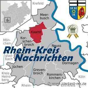 Kaarst – 7‑Tage-Inzidenz-Wert – Aufschlüsselungen Daten | Rhein-Kreis Nachrichten - Klartext-NE.de