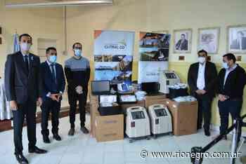 Entregaron equipos e insumos médicos al hospital de Cutral Co y Huincul - Diario Río Negro