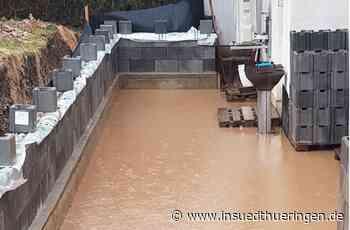 Kaltennordheim - Ständige Angst vor der Flut vom Hang - inSüdthüringen