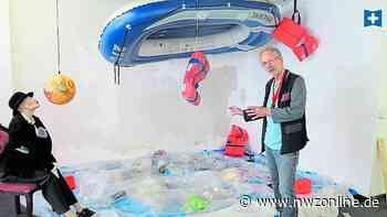 Kultur: Wenn Müll Teil eines Kunstwerks wird - Nordwest-Zeitung