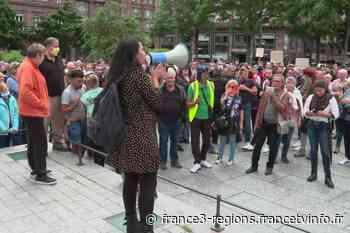 """Alsace : à Strasbourg et Colmar, des centaines d'opposants au pass sanitaire ont manifesté pour """"la liberté"""" - France 3 Régions"""