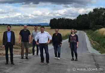 Radweg fertiggestellt - Freie Fahrt von Oberschneiding nach Aiterhofen - idowa