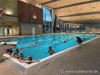 Friedrichshafen: Es finden wieder Schwimmkurse statt, doch die Wartelisten waren schon vor Corona lang - SÜDKURIER Online