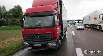 THW im Einsatz Zwei Unfälle führen zu Staus auf der A5 bei Achern von unserer Redaktion - BNN - Badische Neueste Nachrichten