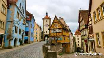 Franken: Rothenburg ob der Tauber ist viel besser als gedacht - WELT