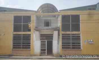 Por alto riesgo de colapso, ordenan demolición del CDI en Oporapa - Huila