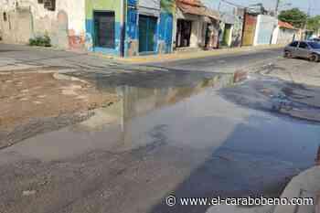 Luis Yaguarate: Guacara se hunde en huecos frente a la mirada indiferente de las autoridades locales - El Carabobeño