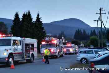 Gibsons residents evacuated during apartment fire - Coast Reporter