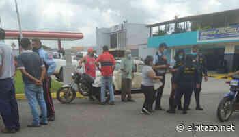 Carabobo | Funcionarios del Dgcim inspeccionaron estación de servicio en Bejuma - El Pitazo