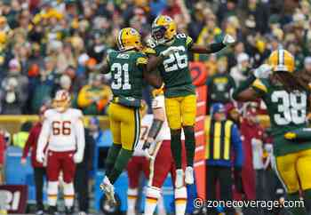 Amos and Savage Are the Underrated Backbone Of the Packers Defense - Zone Coverage