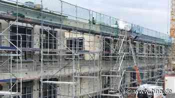 Bau des Feuerwehrstützpunkts in Wolfhagen geht trotz Lieferengpässen zügig voran - HNA.de