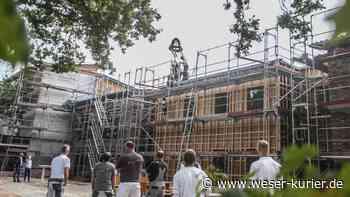 Diakonische Behindertenhilfe feiert Richtfest für Neubau in Lilienthal - WESER-KURIER - WESER-KURIER