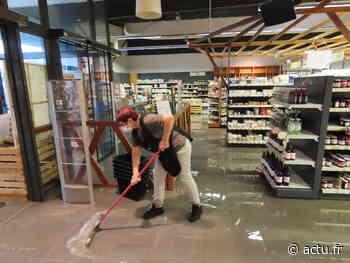 Jura. Plusieurs magasins inondés aux Epenottes, à Dole - actu.fr