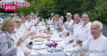 "Facebook-Gruppe organisiert ""White Dinner"" in Niedernhausen - Wiesbadener Kurier"