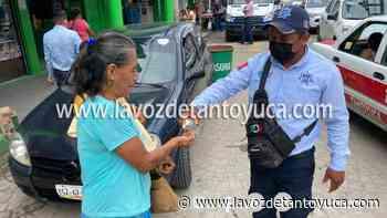 Inicia campaña de concientización de uso de cubrebocas en Tantoyuca - La Voz De Tantoyuca