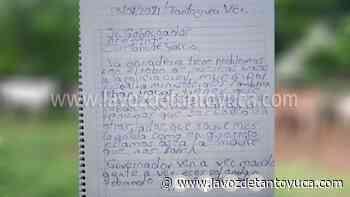 Denuncia a través de una carta el robo de ganado en Tantoyuca - La Voz De Tantoyuca