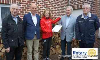 HERNE/PEPINGEN – Rotary Herne-Markvallei verleent olympiër Hanne Verbruggen logistieke steun - Editiepajot