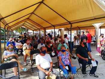 Treintones de Playa del Carmen ya tienen fecha para la vacuna COVID - Yucatán a la mano