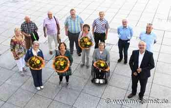 Der neu gewählte Seniorenbeirat der Stadt Gersthofen - Gersthofen - myheimat.de