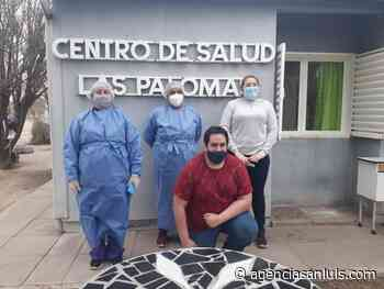 Se vacunó en Lafinur, Los Cajones y Las Palomas - Agencia de Noticias San Luis