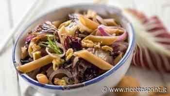 Pasta fredda con radicchio e noci | La ricetta perfetta di Benedetta Rossi - RicettaSprint