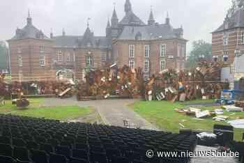 """Indrukwekkende decors voor musicalspektakel '1830': """"We werk... (Westerlo) - Het Nieuwsblad"""