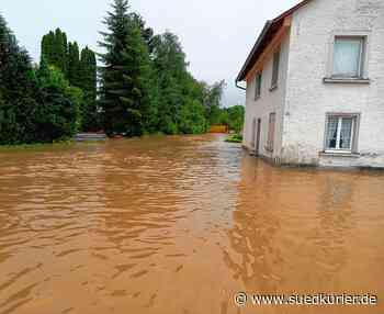Wald: Hochwasser im Landkreis Sigmaringen: In der Nacht zum Freitag stehen Dörfer unter Wasser - SÜDKURIER Online
