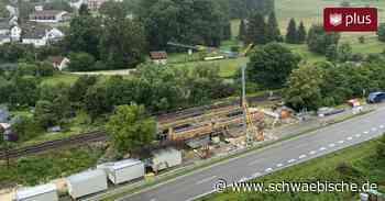 Probleme beim Zugverkehr zwischen Sigmaringen und Inzigkofen - Schwäbische