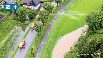 Hochwasser in der Gemeinde Eslohe: Es wird teuer - WP News