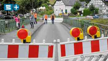 Gute und schlechte Nachrichten nach dem Hochwasser in Eslohe - WP News