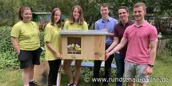 Wesseling: Abenteuerspielplatz erhält kinderfreundliche Imkerbox - Kölnische Rundschau