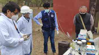 Lambayeque: CRL recomendó declarar en emergencia a Mochumí por contaminación de agua - LaRepública.pe