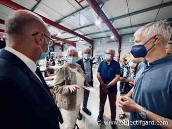 AIGUES-MORTES La préfète du Gard en visite au centre de vaccination - Objectif Gard