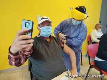 Villa de Merlo: este viernes convocaron a 800 personas para recibir segundas dosis de Sputnik V - Agencia de Noticias San Luis