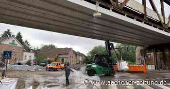Hochwasserschutz in Herzogenrath: In Windeseile sind die Big Packs wieder weggeräumt - Aachener Zeitung