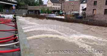 Hochwasser in Herzogenrath: Hält die Barriere? - Aachener Nachrichten