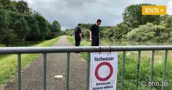 Rheinpegel bei Rastatt erreicht noch nicht befürchtete Höchststände - BNN - Badische Neueste Nachrichten