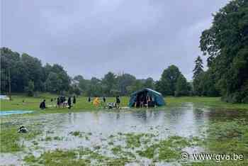 Gidsen Sint Jan en scouts keren vervoegd van kamp terug - Gazet van Antwerpen