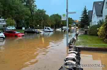 FW-Erkrath: Lageentwicklung nach dem Hochwasser in Erkrath Pressemitteilung der Stadt Erkrath - Presseportal.de