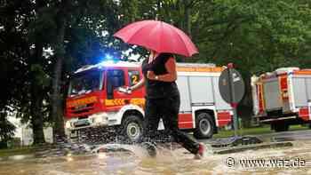 Unwetter verschont Duisburg – Feuerwehr hilft in Erkrath - WAZ News