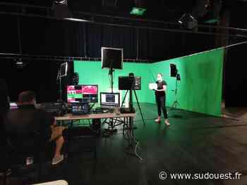Jonzac : un studio TV au Centre des congrès - Sud Ouest