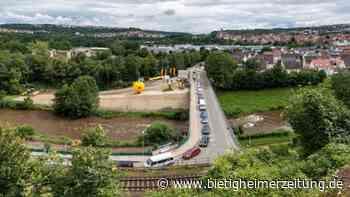 Baubeginn der neuen B27-Brücke zwischen Walheim und Besigheim: Die nächsten 15 Monate wird es schwierig für Autofahrer - Bietigheimer Zeitung