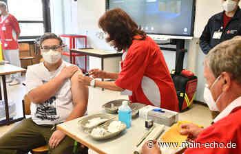 So lief die erste Schulimpfung im Landkreis Darmstadt-Dieburg - Main-Echo