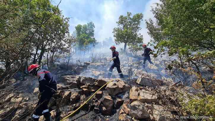 Incendie au col de Vence, 10 hectares brûlés - France Bleu