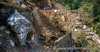 Briceño, el pueblo del Norte que está aislado por un derrumbe - El Colombiano
