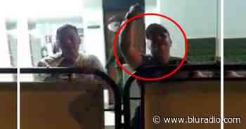 Borracho, concejal Octavio Cárdenas de Piedecuesta protagonizó escándalo en estación de Policía - Blu Radio